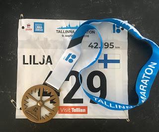 Ennätysjahdissa Tallinnan maratonilla