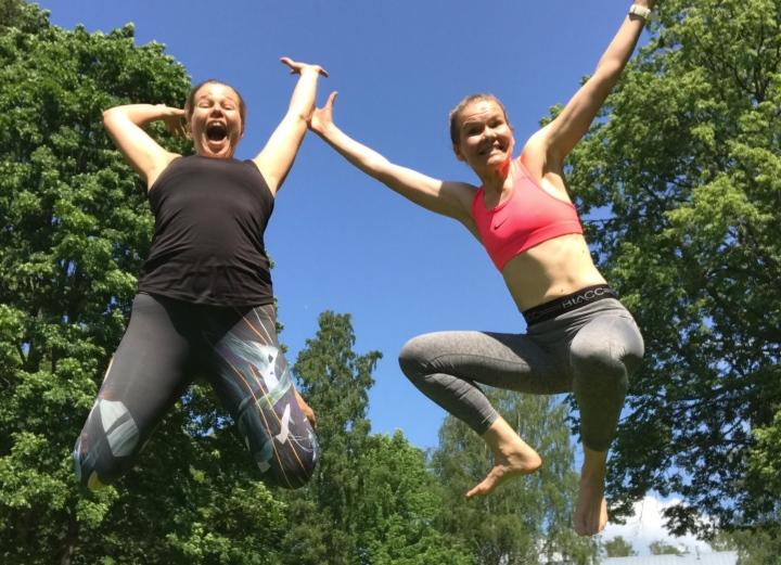 Juoksuleiri Otepäässä – hikeä ja huonojavitsejä