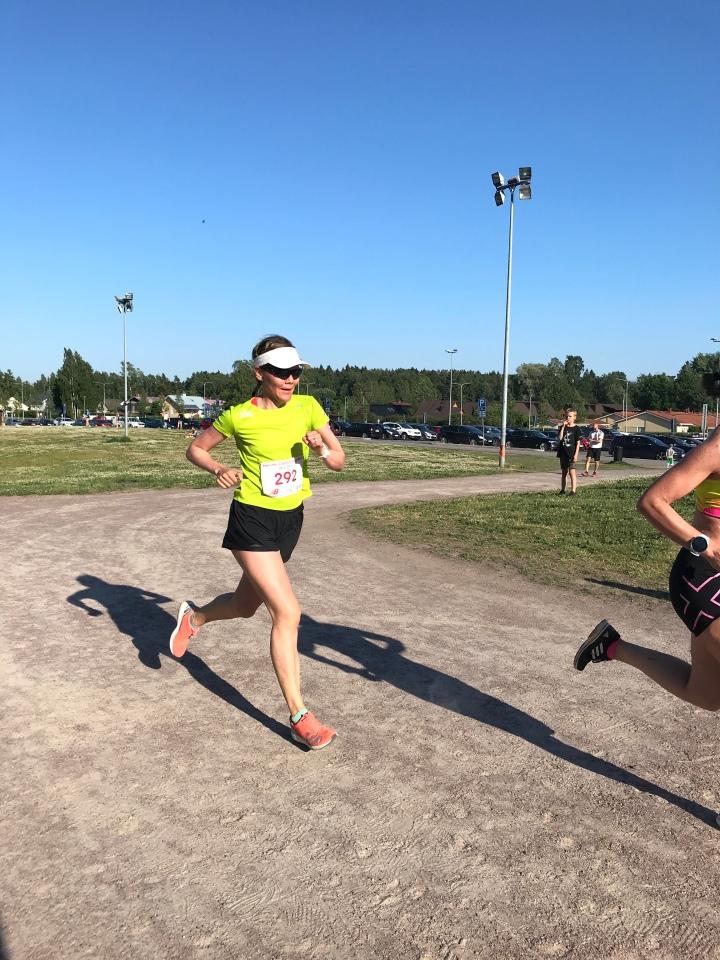 Juoksuohjelma on tuonut ryhtiäharjoitteluun